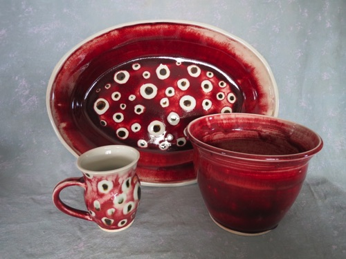 Watermelon Mug $ 30 Large Platter $ 225 Planter $ 52