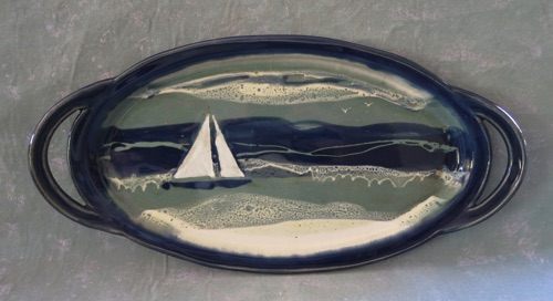 Sailboat Platter Large